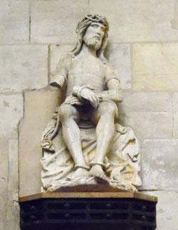 Christ aux liens dans l'église de Poix