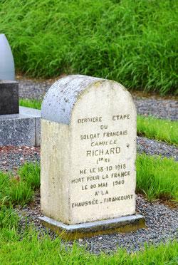 La borne du soldat Richard- La Chaussée-Tirancourt