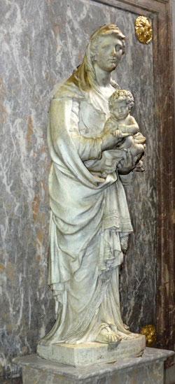 Vierge à l'Enfant-Cathédrale d'Amiens