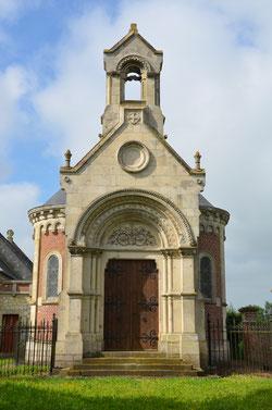 Villers-aux-Erables-chapelle funéraire