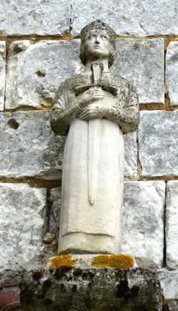 Autre statue église d'Aumâtre