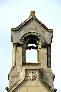 Le clocher à campenard de Villers aux Erables