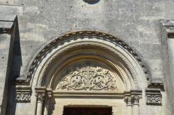 Le tympan de la chapelle de Proyart