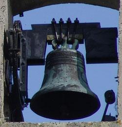 Gros plan sur une cloche