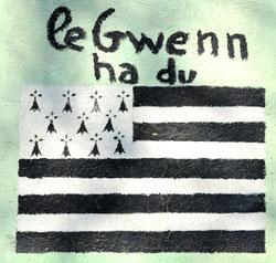 Sainte-Segrée: le drapeau de la Bretagne