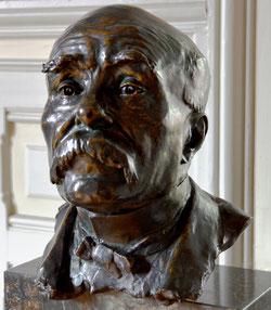 Buste de Georges Clemenceau