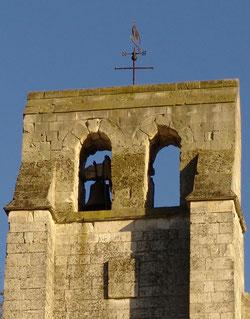 Clocher de l'église de Rivière