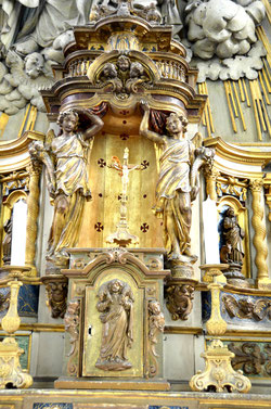 Le tabernacle de l'église de Feuquières-en-Vimeu