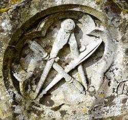 Sur la tombe familiale des Duthoit