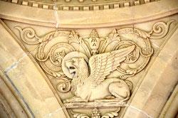 Le lion ailé de St-Marc- Chapelle de Villers-aux-E
