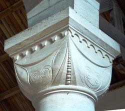 Chapiteau de l'église de Contalmaison