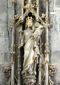 Vierge à l'Enfant- Eglise Saint-Germain