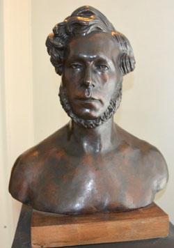 Bronze de Boucher de Perthes-Musée d'Abbeville