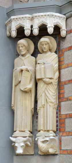 Les évangélistes: Luc et Jean