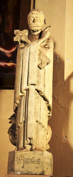 Eglise d'Auchonvillers: saint Pierre