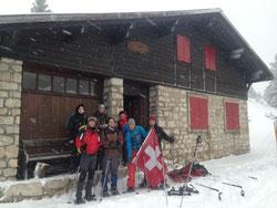 séjour les rousses jura école de ski traversée du jura