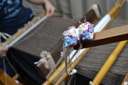 藁に真綿をかぶせたカシャゲ綿と呼ばれています