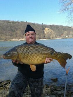 Josef Leimhofer, März 2012, 83cm (Donau)