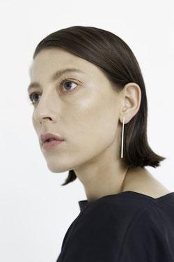 fair: Ohrring aus recyceltem Silber von Natascha von Hirschhausen
