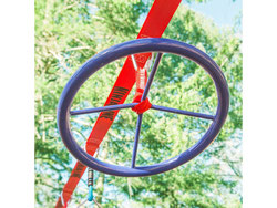Matériel de jeu Ninja line spinner. Matériel à acheter pas cher comprend une roue de ninjaline spiner à prix discount.