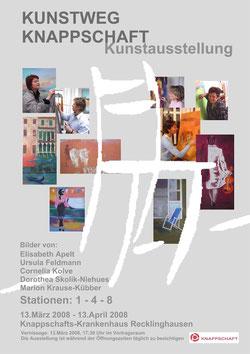Kunstweg Knappschaft, Plakat