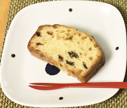 ドライフルーツのバウンドケーキ
