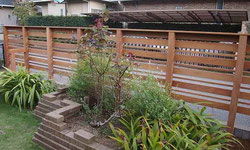 目隠しフェンス(すき間40mm)