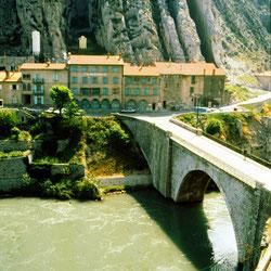 Sisteron, aber an der Durance