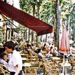 Straßencafé in Aix en Provence