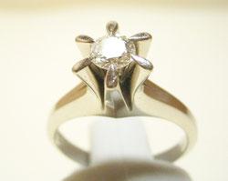 昔の婚約指輪 リフォーム前