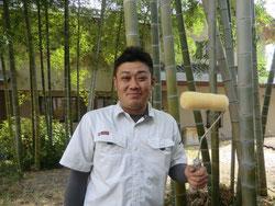 工事部長:増岡 良樹