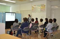 ▲ 公開講座~健康づくりのためのロコモ予防~