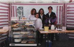 Tina, Micha, Anja, Doris