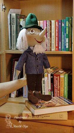 кукла игровая пишичитай, авторская. Маслик Ольга