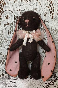 текстильный заяц, автор Маслик Ольга