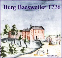 Burg Baesweiler 1726