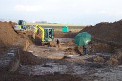 Untersuchung Steinzeitsiedlung Oidtweiler