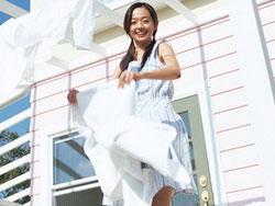 花粉が多い時の洗濯物を外干しするなら柔軟剤を!