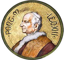 Eugenio Pacelli, luego Papa León XIII