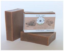 savon chocolat cacao noven