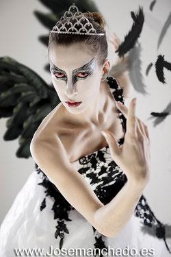 black Swan make up, maquillaje cisne negro, bailarina ballet, fotos bailarina ballet, book ballet, book bailarina
