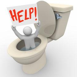 comment déboucher des toilettes avec une ventouse : appeler Batifosse