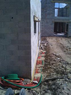 Installation électrique de l'extension d'une maison à Roquefort-la-bedoule