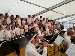 Fest der Musik in Küsnacht mit der Feldmusik Meierskappel