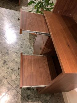 キッチンボード 食器棚 ナチュラル 北欧 カップボード レトロ インテリア 栃木県家具 東京デザインセンター