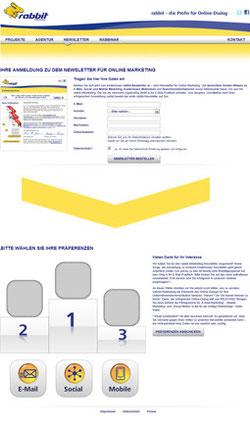 Verteileraufbau durch Double-opt-in und Newsletter Overlays fördern