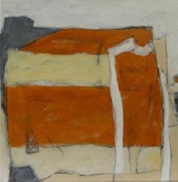 Farbfelder 5, Acryl, 40 x 40 cm, 2017