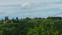 Die Landschaft ist wirklich...