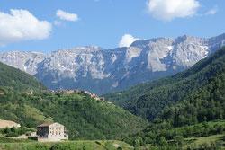montagne des pyrénées catalanes