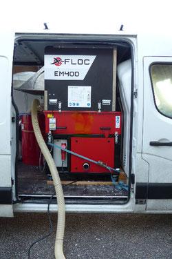 EM 400 Einblasmaschine X-Floc Haberl Dämmtechnik